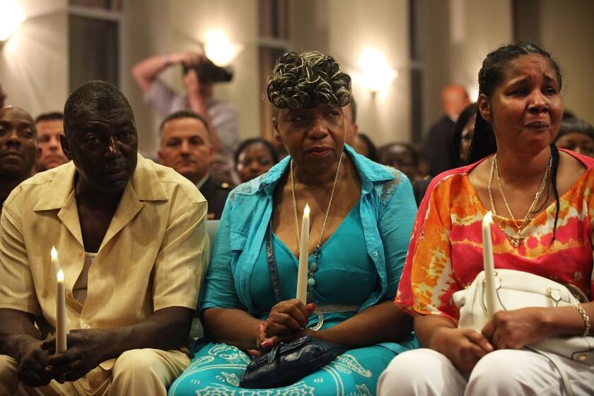 Cardinal Dolan Holds Prayer Service Marking One-Year Anniversary Of Death Of Eric Garner