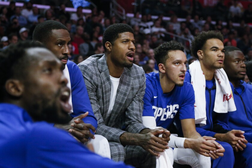 Paul George takes another step to returning for the Clippers in live scrimmage