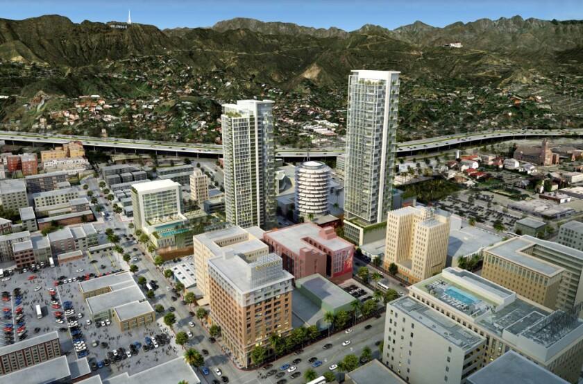 Activists seek ballot measure for moratorium on L.A. 'mega projects'