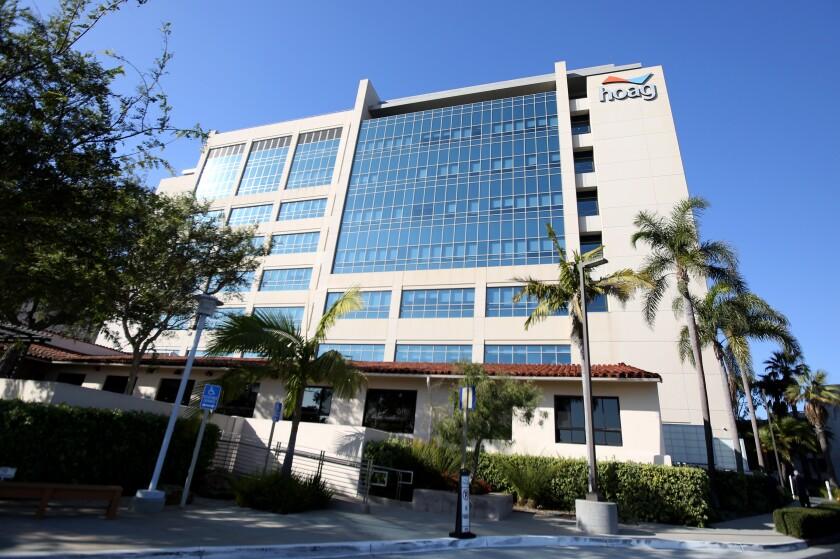 Hoag Hospital in Newport Beach.
