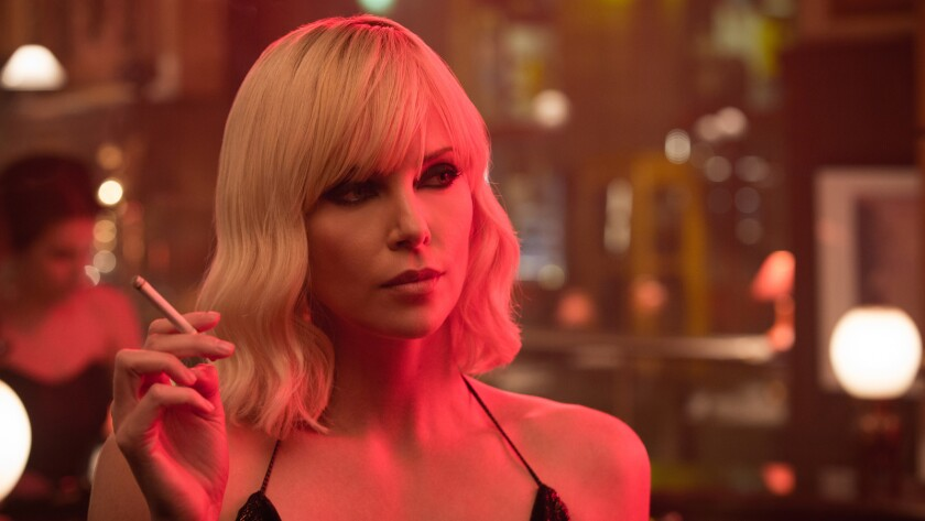 """Charlize Theron in """"Atomic Blonde."""""""