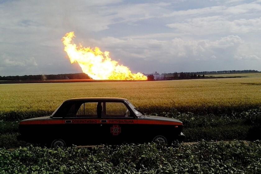 Ukraine pipeline blast