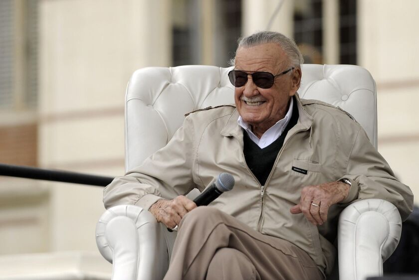 Stan Lee is suing his ex-business manager for fraud, elder
