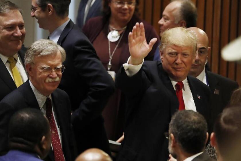 Trump llega tarde a su discurso en la Asamblea General de la ONU