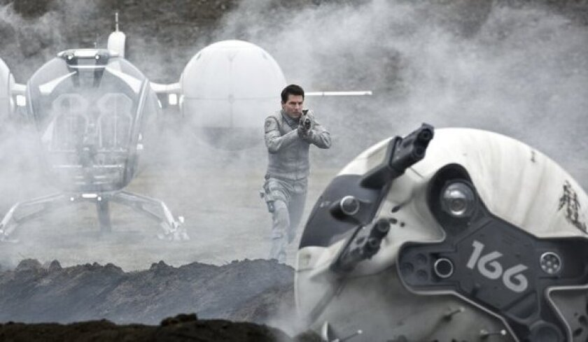 Tom Cruise proves his box-office worth with No. 1 'Oblivion'