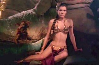 Princess Leia's gold bikini? Just sold for $96,000