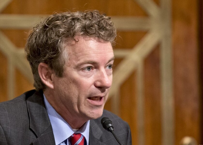 Sen. Rand Paul (R-Ky.): Wrong on unemployment benefits?