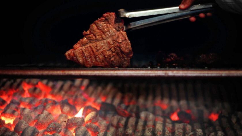 FOOD GRILL MEAT CHARCOAL HEAT BARBECUE COALS BEEF COOK