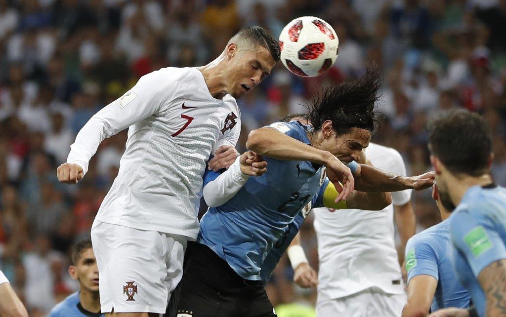 EJ FOTOS: Prevalece la 'garra charrúa'; Uruguay manda a casa Ronaldo y Portugal
