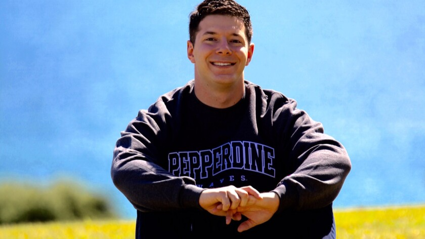 Mass shooting survivor Joshua Stepakoff is now in a graduate program in clinical psychology at Pepperdine.