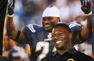 LaDainian Tomlinson new NFL Hall of Famer