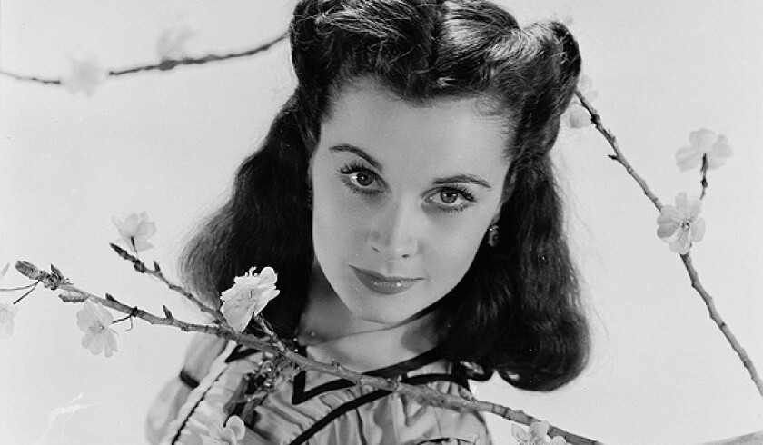 "Vivien Leigh as Scarlett O'Hara of ""Gone With the Wind."""