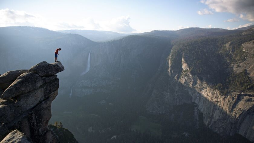 In 'Free Solo,' Alex Honnold is on display as climber and