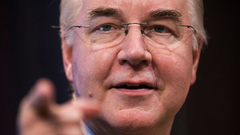 HHS Nominee Tom Price Speaks at the Brookings Institute