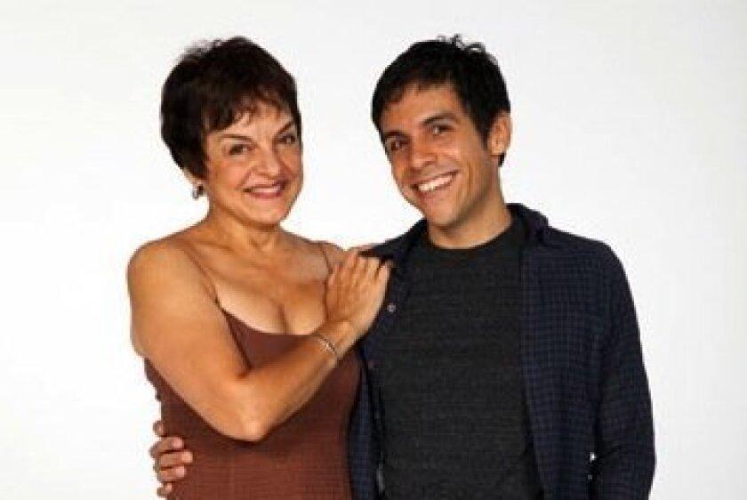 Priscilla and Matthew Lopez.