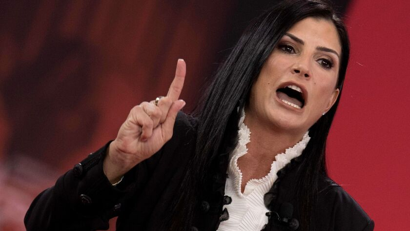 NRA spokeswoman Dana Loesch at the Conservative Political Action Conference in Oxon Hill, Md.