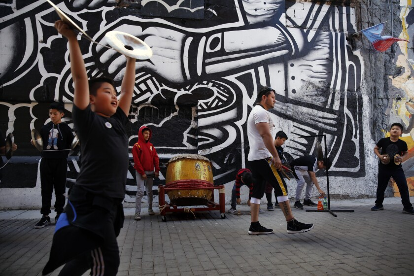 La Chinesca alley in Mexicali