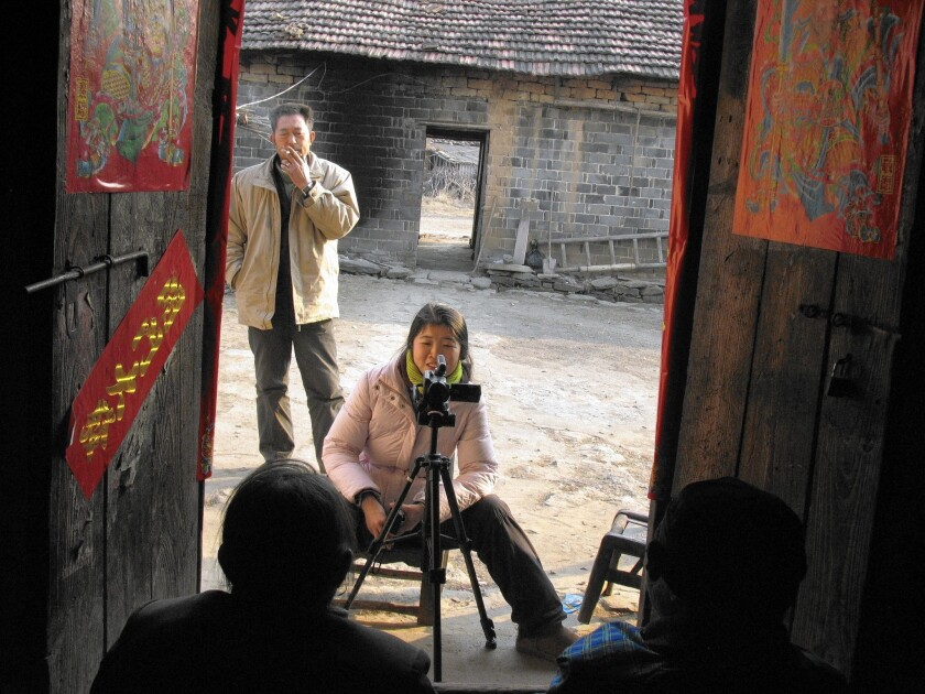 Interview with villagers for 'Memory Project'
