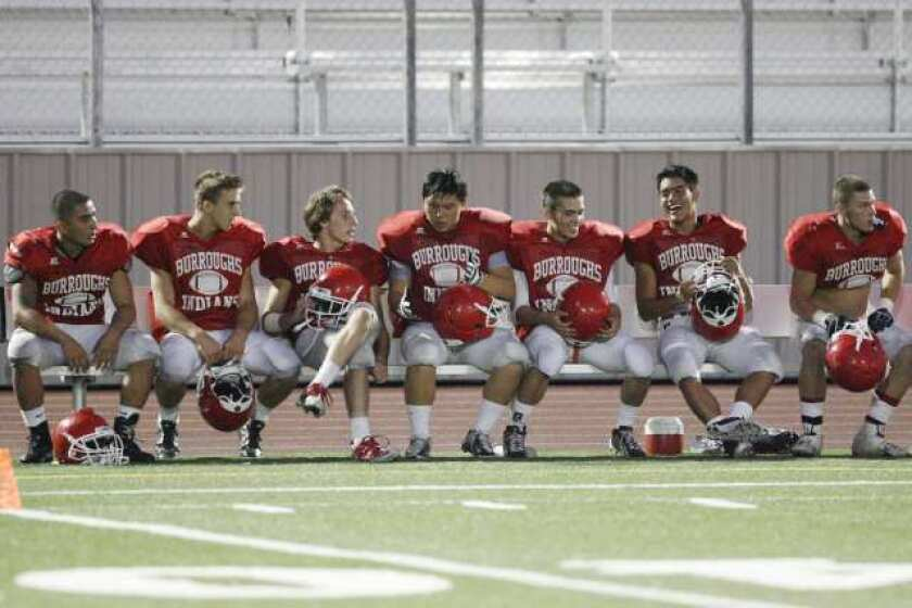 Burroughs football team hopes to be more balanced