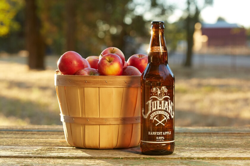 Julian Hard Cider. (Courtesy photo)