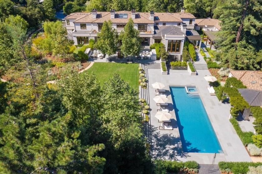 Paul Allen's Atherton mansion