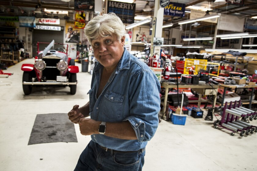 Jay Leno S Back In The Driver S Seat In Cnbc S New Jay Leno S