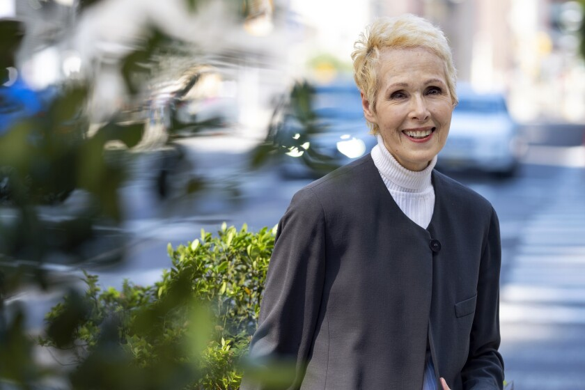 E. Jean Carroll photographed in June, in New York.