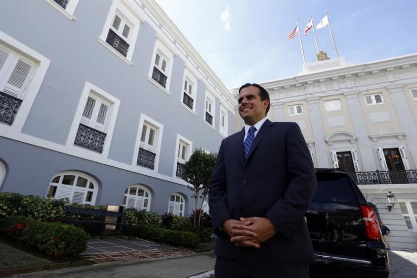 El gobernador de Puerto Rico, Ricardo Rosselló, anunció hoy nuevos nombramientos para su equipo de trabajo, entre los que destaca el de director ejecutivo para el Sistema de Retiro de Maestros, de Armando Díaz Rivera. EFE/ARCHIVO