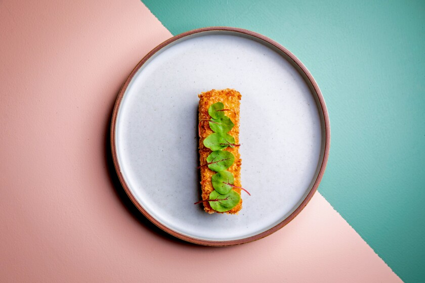 Modern Korean fare — crispy pork belly and soon tofu ramen ...