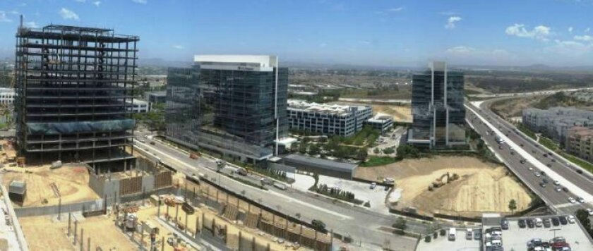 Office-based tech workers in the San Diego region grew by 19.7 percent over the past two years, according to a new report from CBRE, a commercial real estate firm.