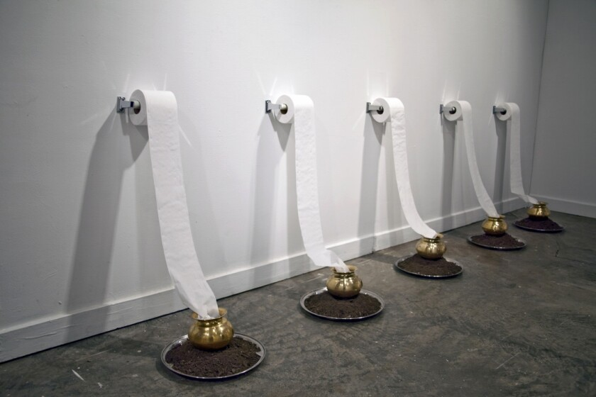 """""""Beyond Rituals,"""" 2010, by Pallavi Sharma on view through the """"The Anthropocene Epiphany"""" exhibit."""