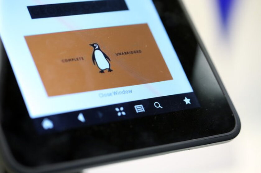 E-books help fuel gains in U.S. book sales in 2012
