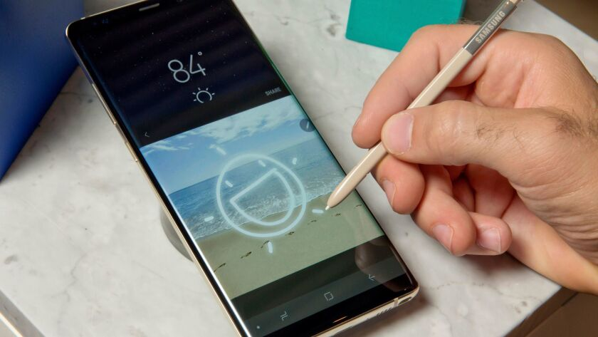 The Samsung Galaxy Note 8's new stylus restores some of the hardware improvements introduced (and then taken away) with the Note 7.