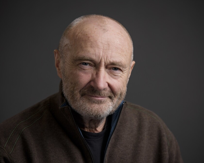 Musician Phil Collins in 2016