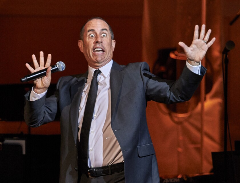 "Jerry Seinfeld's first guest on the seventh season of his online talk show, ""Comedians in Cars Getting Coffee,"" which debuts Dec. 30, will be President Obama."
