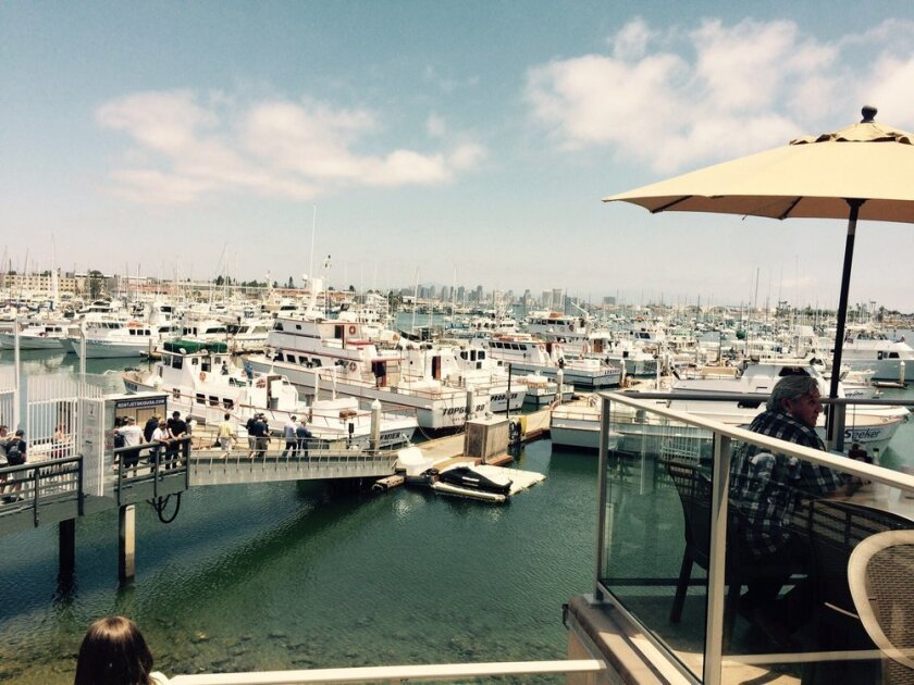 Point Loma Seafoods has a stellar view of the Point Loma harbor (Courtesy photo)