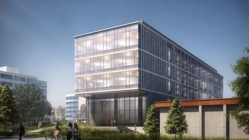 UC San Diego is building Tata Hall, which will provide space for chemistry and the biological scienc