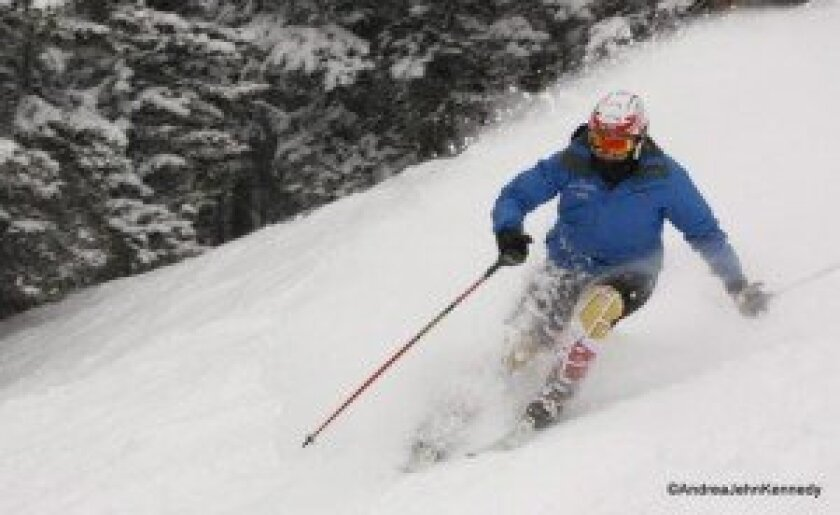Katrina Schaber, a Canyon Crest Academy junior and champion Paralympic skier, will travel to Sochi Winter Olympics next month. Courtesy photos