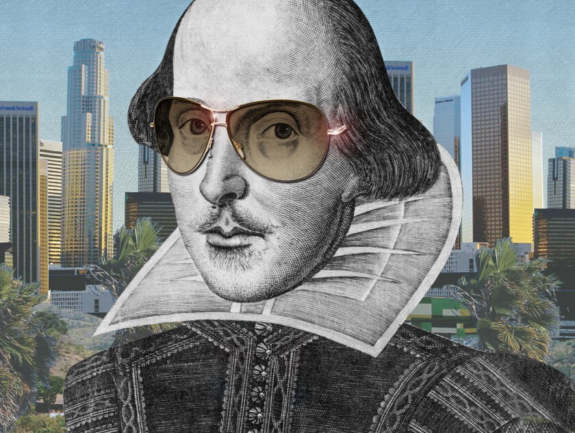 William Shakespeare's work causes an uproar in Julie Schumacher's novel 'The Shakespeare Requirement.'