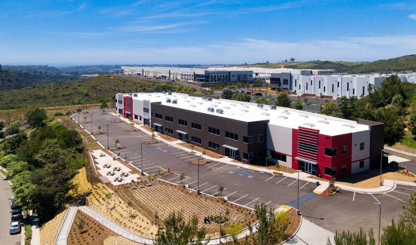 Badiee Development has completed Carlsbad Innovate, a 50,150-square-foot building in Carlsbad Oaks North Business Park.