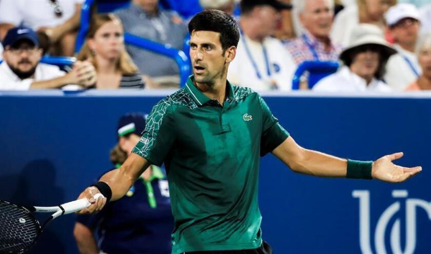 Novak Djokovic, tenista serbio. EFE/Archivo