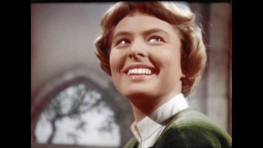 """Ingrid Bergman in the documentary """"Ingrid Bergman: In Her Own Words."""""""