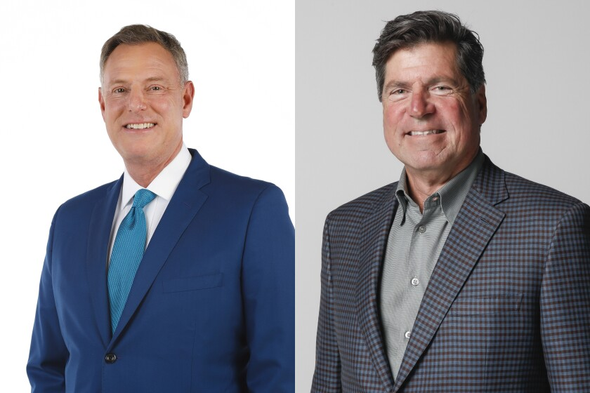 Rep. Scott Peters, Jim DeBello are running for California's 52nd congressional district seat.
