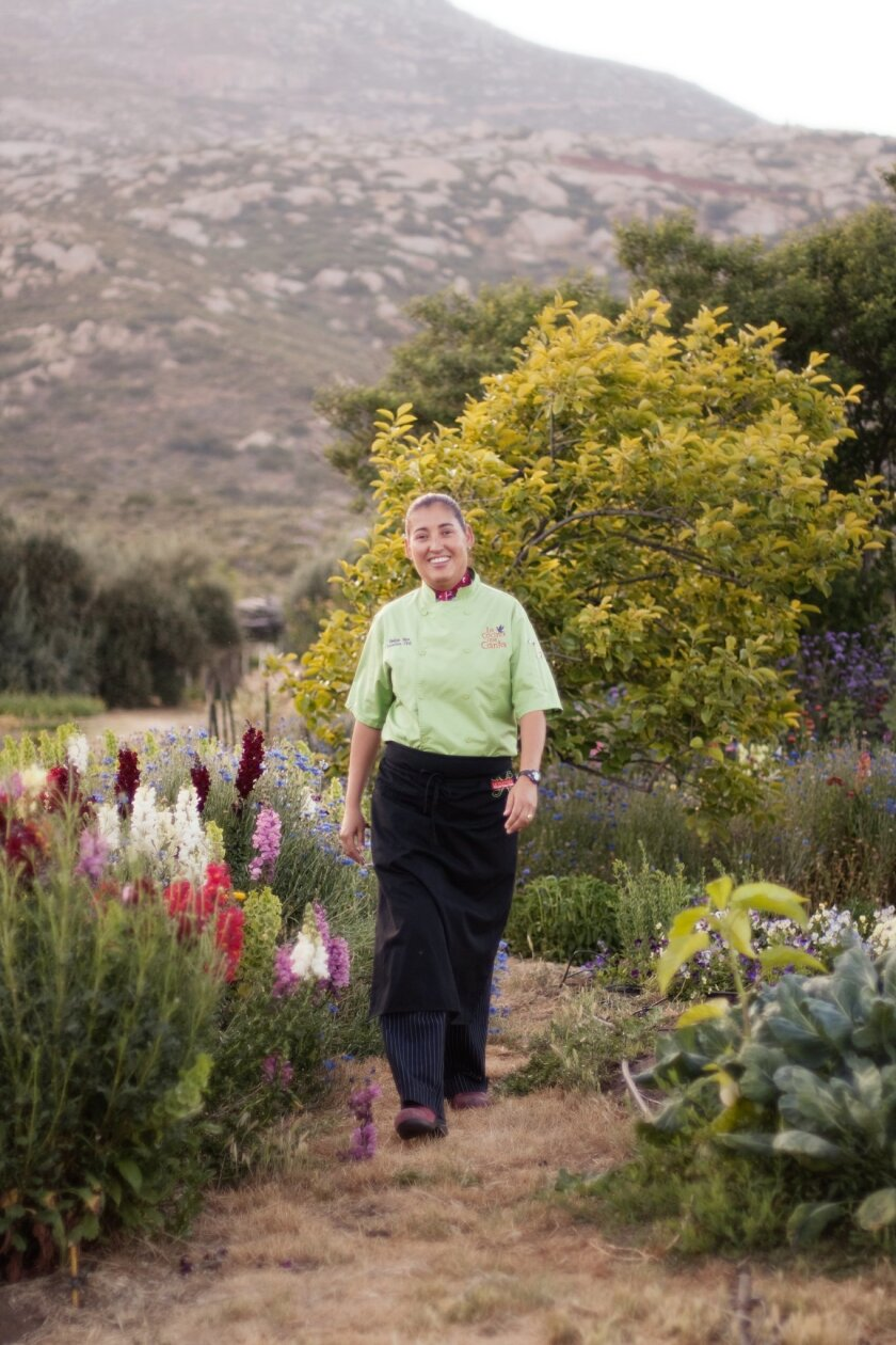 Rancho La Puerta's executive chef Denise Roa.