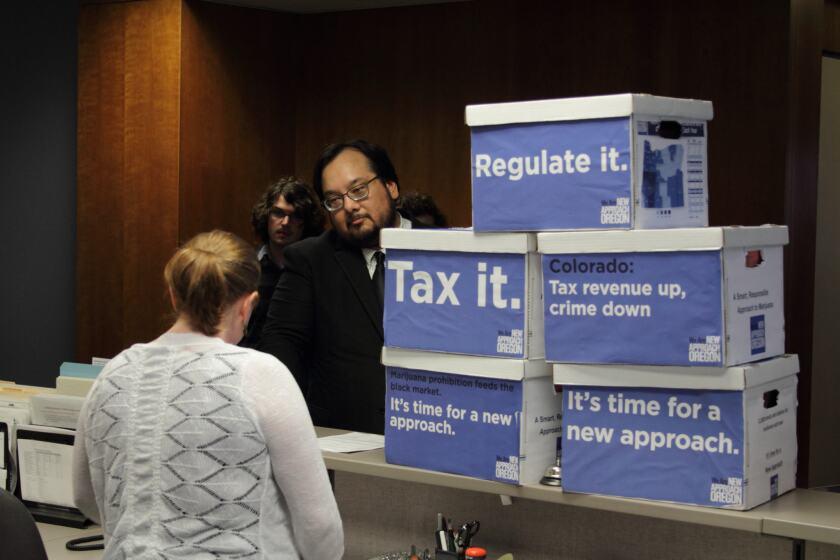 Pot Oregon Legislation
