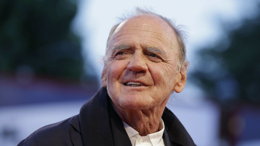 "Bruno Ganz arrives for the screening of ""Remember"" at the 2015 Venice Film Festival."