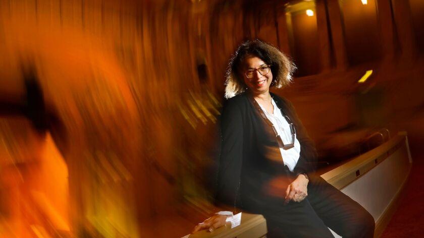 SAN DIEGO, CA 12/5/2017: Maria Cecilia Araujo, vice president of education and community engagement