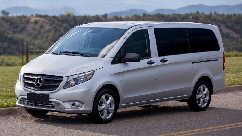 Mercedes-Benz is bringing its popular mid-size passenger and cargo vans to America, hoping to reproduce its success in Europe in the U.S. and to take market share from vehicles such as the Ford Transit and Transit Connect.