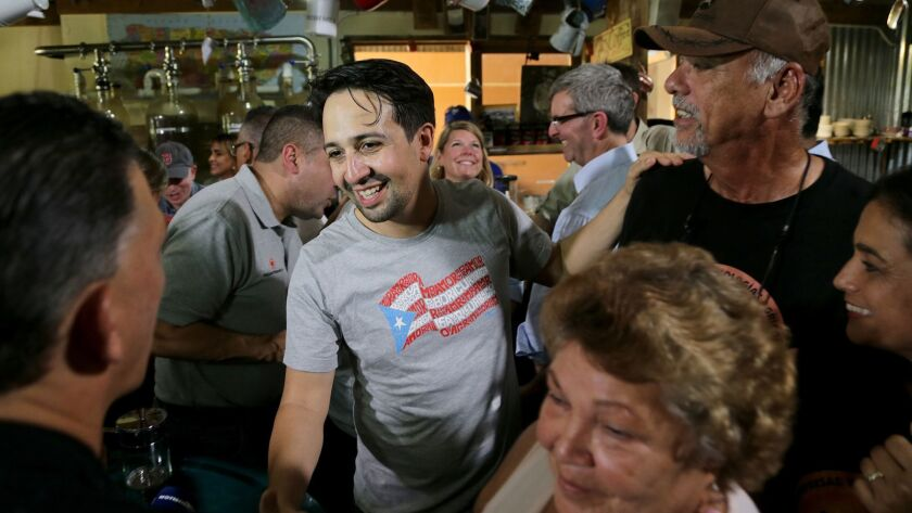 Lin-Manuel Miranda is trying to revive Puerto Rico's devastated coffee industry