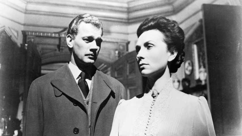 """Joseph Cotten and Agnes Moorehead in the 1942 film """"The Magnificent Ambersons."""""""